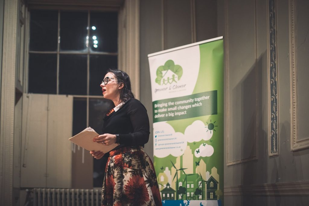 Parisa Wright hosting the 2nd annual Greener & Cleaner Bromley (& Beyond) Schools Eco Ideas Swap Event
