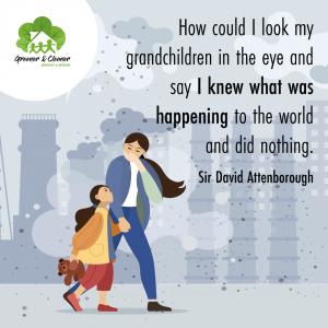 Air pollution instagram banner