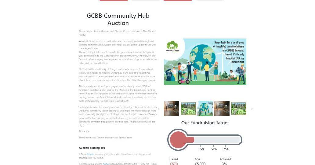GCBB Community Hub Auction